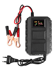 cheap -12V 6A EU/US 110-240V AC input automatic intelligent battery charger lead acid desulfurization car battery charger