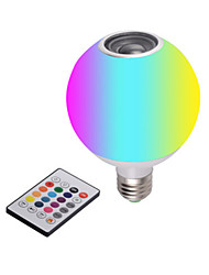 cheap -New LED Bluetooth Music Bulb With White Light Remote Control Colorful RGB Color-Changing Bluetooth Bulb