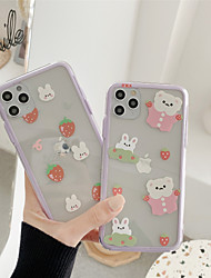 cheap -Hard PC Cartoon Protection Cover for Apple iPhone Case 11 Pro Max X XR XS Max 8 Plus 7 Plus SE(2020)