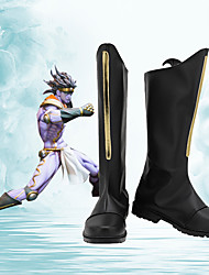 cheap -Cosplay Shoes JoJo's Bizarre Adventure Star Platinum Anime Cosplay Shoes PU Leather Men's / Women's 855