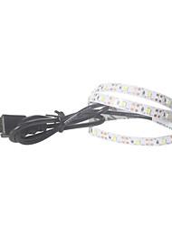 levne -0,5 m Ohebné LED pásky 30 LED diody 2835 SMD 8mm 10pcs Teplá bílá / Bílá / Modrá USB / Párty / Vhodné do aut 5 V