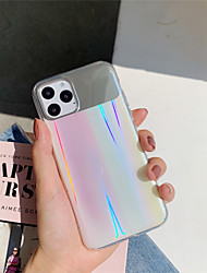 cheap -Laser Mirror TPU Protection Cover for Apple iPhone Case 11 Pro Max X XR XS Max 8 Plus 7 Plus SE(2020)