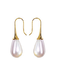 cheap -Women's Earrings Retro Drop Elegant Vintage Imitation Pearl Earrings Jewelry Gold For Wedding Party Gift Daily 1 Pair