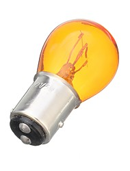 cheap -12V 1157 Halogen Light Bulb Amber Glass Car Brake Tail Rear Stop Lights Bulb Lamp Universal