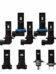 cheap -OTOLAMPARA 2pcs H10 / H16 / P13W Car Light Bulbs 55 W CSP 2200 lm 2 LED Headlamps For