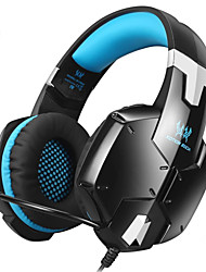 cheap -KOTION EACH G1200 Professional Gaming Headset Headphones with Mic 3.5mm Plug Stereo Bass Headband Noise Cancelling for Laptop