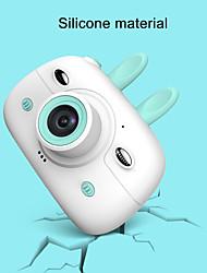 Недорогие -a3 мини-камера для детей 1080p HD SLR с двумя объективами мини-мультфильм камера с 2,4-дюймовым экраном ips для детей