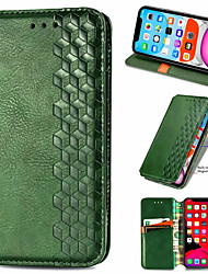 cheap -Checkered Leather Case For Redmi Note 9 9 Pro Max 9S 8T K30 Pro K30Pro Zoom  Poco F2 Pro Magnet Flip Book Case Cover on For Xiaomi Mi 10 10 Pro 10Lite Note 10 Lite 10x 10XPro