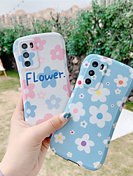 cheap -Summer  Flower Case for Huawei P30 Pro P40 Pro Mate 30 Pro Protection Cover