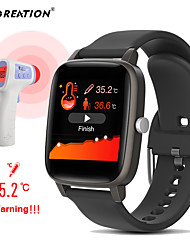 cheap -T98S Smart watch Body Temperature Measurement Heart Rate monitor Blood Pressure Fitness Tracker Sport smartwatch