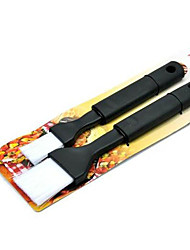 cheap -2pcs Barbecue Brush Oil Long Handle Plastic Cooking Sauce Baking Tool