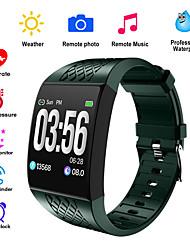 Недорогие -P16 смарт-браслеты фитнес-браслет трекер дистанционного управления фото музыка смарт-группа часы