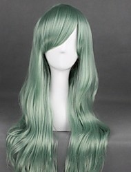 cheap -Cosplay Wig Lolita Curly Cosplay Halloween With Bangs Wig Long Green Synthetic Hair 31 inch Women's Anime Fashionable Design Cosplay Green