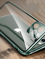 cheap -Magnetic Metal Adsorption Double Sided Glass Case For  iPhone 12 11 Pro Max Camera Protective Phone Cover for iPhone X/XS XR XS Max 7 Plus/8 Plus/iPhone SE2020