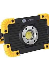 Недорогие -Аккумуляторная початка светодиодный прожектор водонепроницаемый свет для наружного кемпинга туризм аварийный автомобиль ремонт место работы
