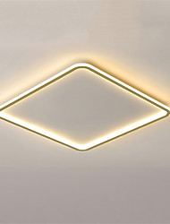 cheap -50 cm Geometric Shapes Flush Mount Lights Metal Painted Finishes Nature Inspired Modern 110-120V 220-240V