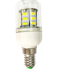 abordables -1pc 3 W Bombillas LED de Mazorca 500 lm E14 T 27 Cuentas LED SMD 5730 Blanco Cálido