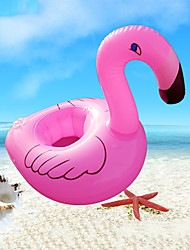 cheap -Inflatable Coater Drink Inflatable Pool Float Inflatable Drink Coaster Inflatable Pool Novelty PVC(PolyVinyl Chloride) Summer Flamingo Pool 1 pcs Kid's Adults'