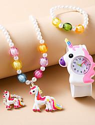 cheap -Kids Quartz Watches Analog Quartz Stylish Fashion Creative / Silicone