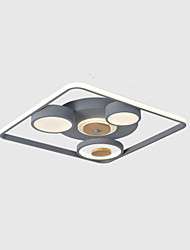 cheap -Modern Simple Atmosphere Living Room Study Creative Personality Web Celebrity Led Ceiling Light Room Bedroom Light 64W