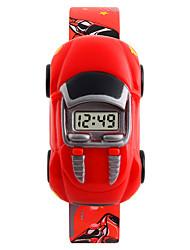 Недорогие -SKMEI Дети электронные часы Цифровой Сказочный Черный / Синий / Красный Творчество Милый Цифровой Мультяшная тематика - Черный Синий Красный Один год Срок службы батареи