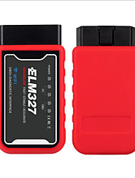 cheap -ELM327 Car OBD II Diagnostic Tool Auto Scanner Code Reader WiFi bluetooth V1.5 PIC18F25K80 Chip For IPhone/Android/PC