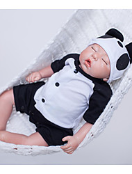 Недорогие -OtardDolls 18 дюймовый Куклы реборн Мальчики Новорожденный как живой Экологичные Подарок Безопасно для детей Ткань 3/4 Силиконовые конечности и заполненный хлопком корпус с одеждой и аксессуарами