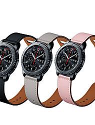 billige -ægte læder Urrem Strap for Apple Watch Series 5/4/3/2/1 22cm / 8,66 tommer 2.2cm / 0.9 Tommer