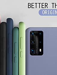 cheap -Liquid Silicone Rubber Soft Case for Samsung Galaxy S20 S20 Plus S20 Ultra Phone Case Bumper Coque S10 S10 Plus S10E S10 Lite S9 S9 Plus A51 A71 A81 A91 A10 A20 A30 A40 A50 A70 Note 10 Note 10 Plus