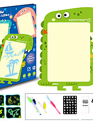 cheap -Drawing Toy Educational Toy Writing Tablet Drawing Pads Drawing Board Elephant Dinosaur Whale ABS 3D Cartoon Adults Kids Boys and Girls for Birthday Gifts or Party Favors
