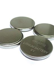 billiga -50 st original cr2032 cr 2032 3v litiumbatteri för dator fjärrkontroll räknare knapp cell mynt batteri sträng lampor batteri