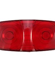 cheap -Trailer Truck Side Marker Clearance Light Double Bullseye Red Lens 10 Diode