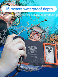 cheap -Universal Waterproof Underwater Photography Housings for iPhone 12 11 Pro Max XR 7 7 Plus 8 Plus[50ft/15m] Diving Case for iPhone 6 6s 6s Plus