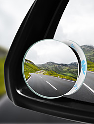 cheap -Car 360 Wide Angle Round Convex Mirror Car Vehicle Side Blindspot Blind Spot Mirror Wide Rear View Mirror Small Round Mirror