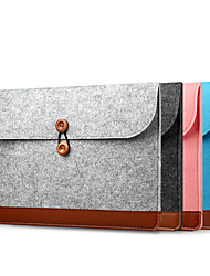 cheap -MacBook Case / Combined Protection / Sleeves Solid Colored Canvas for Macbook Pro 13-inch / Macbook Air 11-inch / Macbook Pro 15-inch