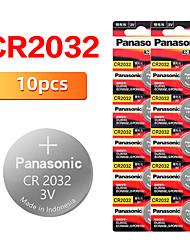 Недорогие -Оригинальный новый аккумулятор для cr2032 3 В кнопки батареи монеты батареи для часов компьютер
