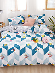 cheap -Duvet Cover Set, Ultra Soft and Easy Care, 4-Piece Duvet Cover Set For Kid's Room