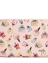 cheap -11.6 12 13.3 14 15.6 Inch Laptop Sleeve PU Leather Polyurethane Leather Fashion for Women for Business Office for Colleages Schools Waterpoof Shock Proof