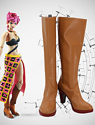 cheap -Cosplay Shoes JoJo's Bizarre Adventure Trish Una Anime Cosplay Shoes PU Leather Men's / Women's 855