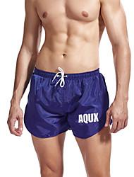 cheap -Men's Sporty Daily Holiday Slim Shorts Pants - Solid Colored Split Drawstring Breathable Low Waist Summer Black Blue Green US32 / UK32 / EU40 / US34 / UK34 / EU42 / US36 / UK36 / EU44 / Elasticity