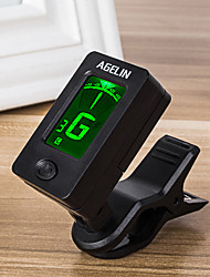 cheap -Ammoon AT-08 Mini Digital LCD Clip-on Tuner for Acoustic Electric Guitar Bass Violin Ukulele Chromatic