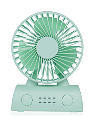 cheap -USB Portable Mini Fan D402 Mute Fan Removable Battery/USB Dual Power Supply