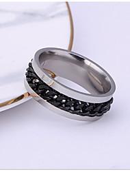 cheap -Ring Geometrical Black Blue Gold Alloy Hope Stylish Simple Trendy 1pc 5 6 7 8 9
