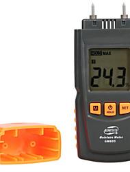 cheap -GM605 Digital LCD Display Humidity Tester Timber Damp Detector portable wood moisture meter