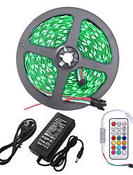 cheap -5M LED Light Strips Flexible Tiktok Lights SMD5050 10mm 300LED Shell Waterproof Light Bar 21 key Infrared Controller
