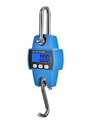 cheap -Mini Digital Crane Scale 300kg/600lbs with LED (Plastic ShellOrange)