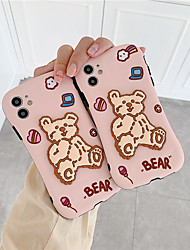 cheap -Cartoon cute waving 3D Duffy bear Shalimar silicone soft cover for iphone 11Pro MAX se 2020 7 8plus X phone cases