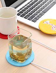 cheap -USB Power Suply Tea Coffee Cup Mug Warmer Heating Mat Pad Coasters