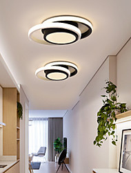 cheap -Simple And Modern Led Ceiling Lamp Aisle Lamp Porch Ceiling Lamp Round Acrylic Balcony Lamp 26W