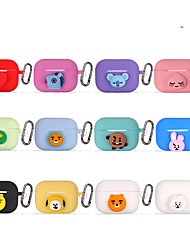 cheap -Cartoon Silicone Cover Skin for Apple AirPods Pro  Earphone Soft Case for Air Pods 3 I10 Tws Headphone Box Bags Accessories